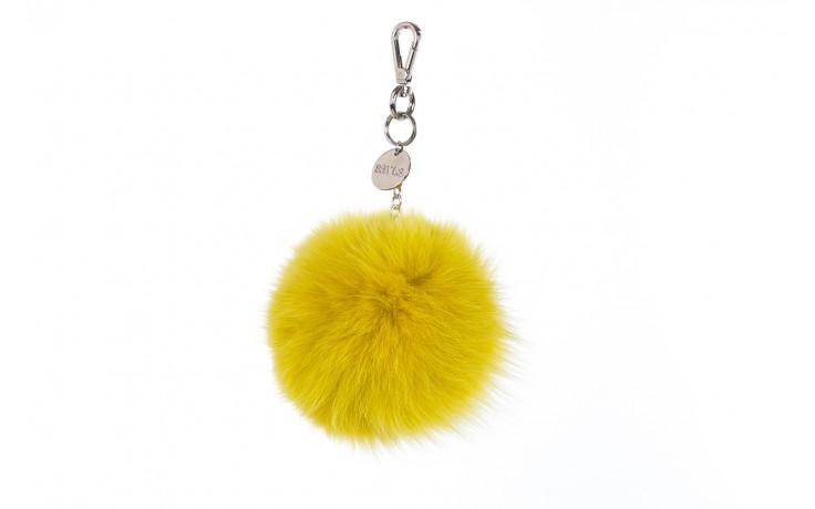 Brelok bayla-125 brelok lis żółty łańcuch, futro naturalne  - bayla - nasze marki