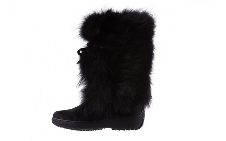 Śniegowce oscar volpe nero, czarny, futro naturalna  - oscar - nasze marki 2