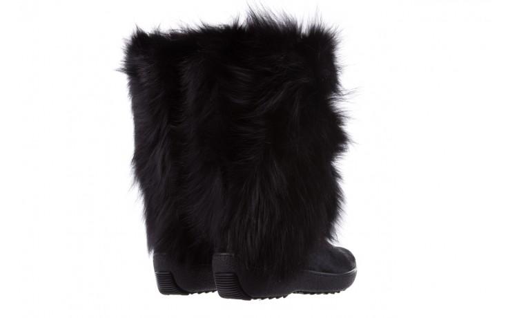 Śniegowce oscar volpe nero, czarny, futro naturalna  - oscar - nasze marki 3
