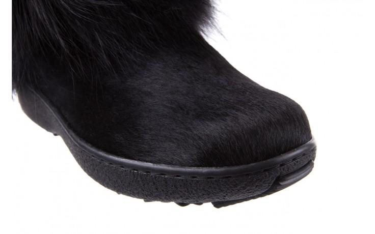 Śniegowce oscar volpe nero, czarny, futro naturalna  - oscar - nasze marki 4