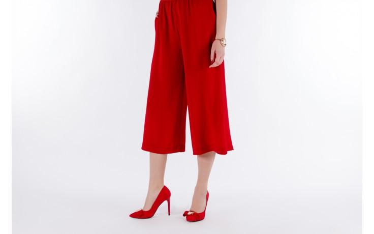 Czółenka bayla-097 z7135-322 czerwony, skóra naturalna  - zamszowe - szpilki - buty damskie - kobieta 7