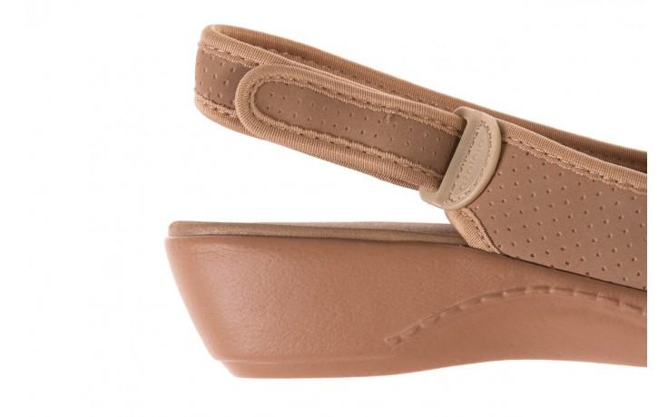 Sandały azaleia 322 248 nobuck beige, beż, materiał 6