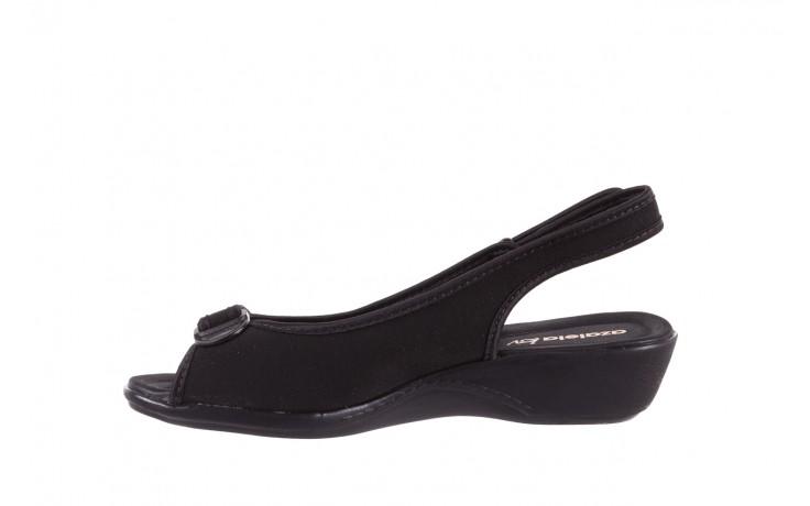 Sandały azaleia 322 248 nobuck black 17, czarny, materiał  - sandały - dla niej - dodatkowe -10% 2
