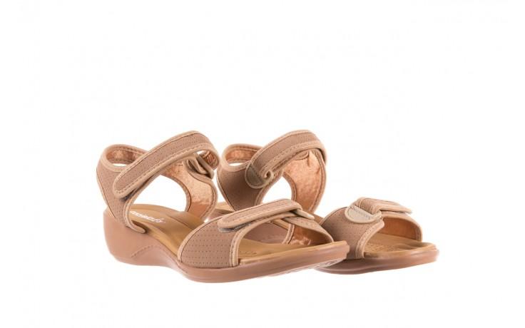 Sandały azaleia 322 363 nobuck beige, beż, materiał - sandały - dla niej - dodatkowe -10% 1