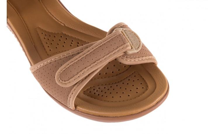 Sandały azaleia 322 363 nobuck beige, beż, materiał - sandały - dla niej - dodatkowe -10% 5