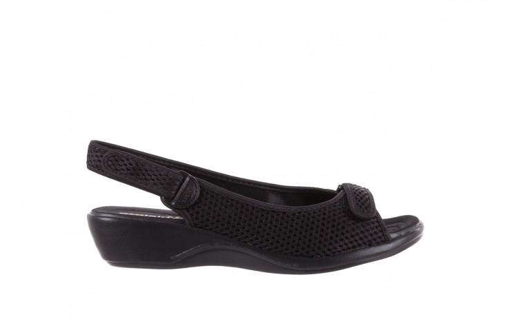 Sandały azaleia 322 261 black, czarny, materiał - azaleia - nasze marki