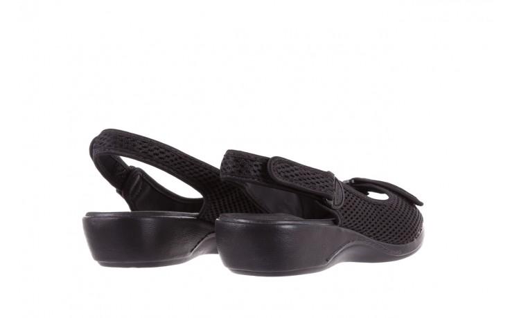 Sandały azaleia 322 261 black, czarny, materiał - azaleia - nasze marki 3