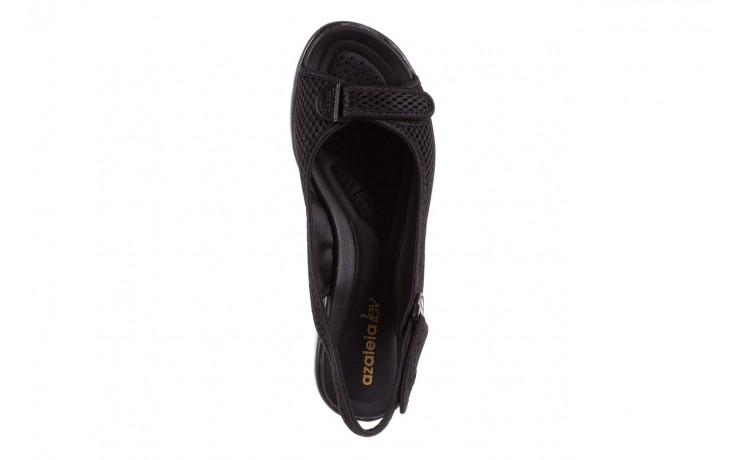 Sandały azaleia 322 261 black, czarny, materiał - azaleia - nasze marki 4