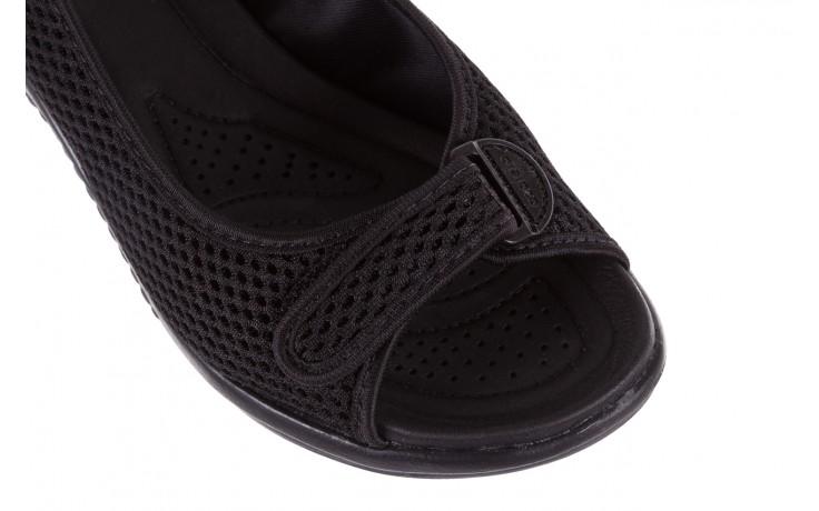 Sandały azaleia 322 261 black, czarny, materiał - azaleia - nasze marki 5