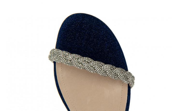 Klapki sca'viola b-204 d blue 047179, granat, silikon  - klapki - buty damskie - kobieta 9