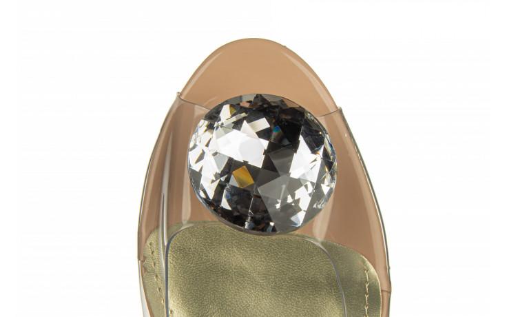 Sandały sca'viola g-15 l pink 21 047182, róż, silikon - na obcasie - sandały - buty damskie - kobieta 9
