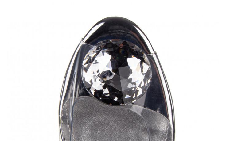 Sandały sca'viola g-17 silver 21 047186, srebro, silikon 7