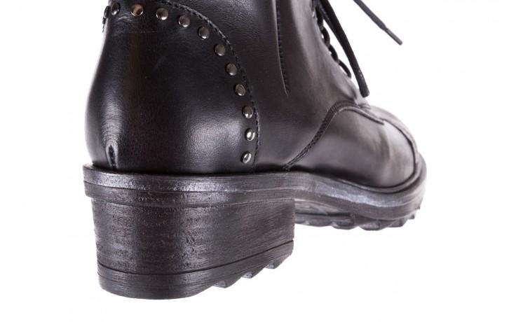 Trzewiki bayla-131 8300 nero, czarny, skóra naturalna  - bayla - nasze marki 6