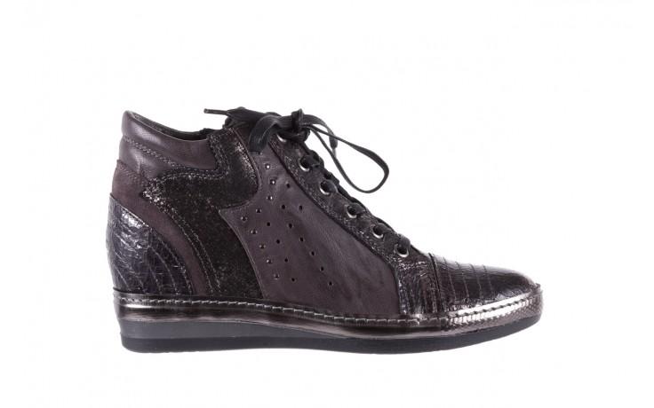 Sneakersy bayla-131 7109 grey, szary, skóra naturalna  - bayla - nasze marki