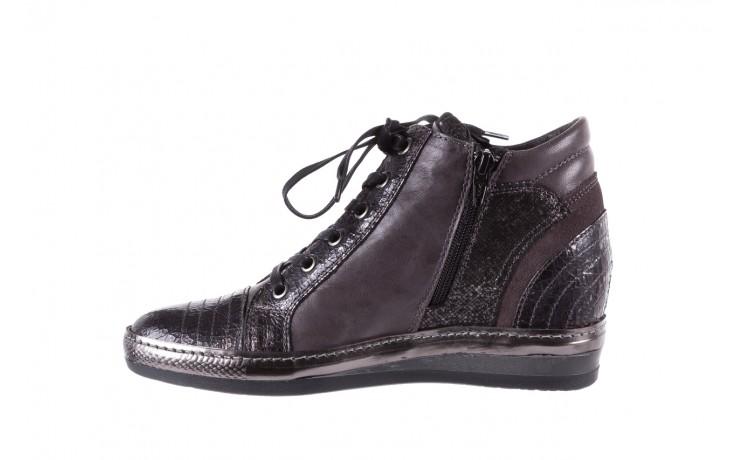 Sneakersy bayla-131 7109 grey, szary, skóra naturalna  - bayla - nasze marki 2