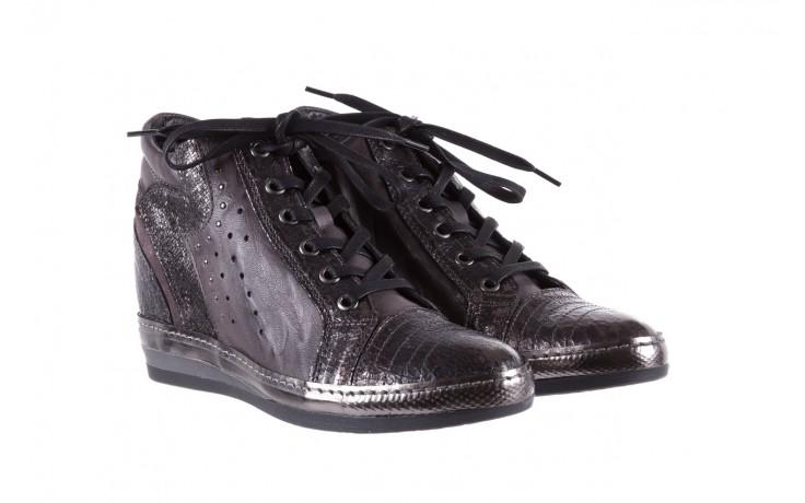 Sneakersy bayla-131 7109 grey, szary, skóra naturalna  - bayla - nasze marki 1