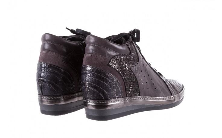 Sneakersy bayla-131 7109 grey, szary, skóra naturalna  - bayla - nasze marki 3