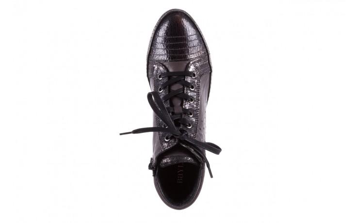 Sneakersy bayla-131 7109 grey, szary, skóra naturalna  - bayla - nasze marki 4