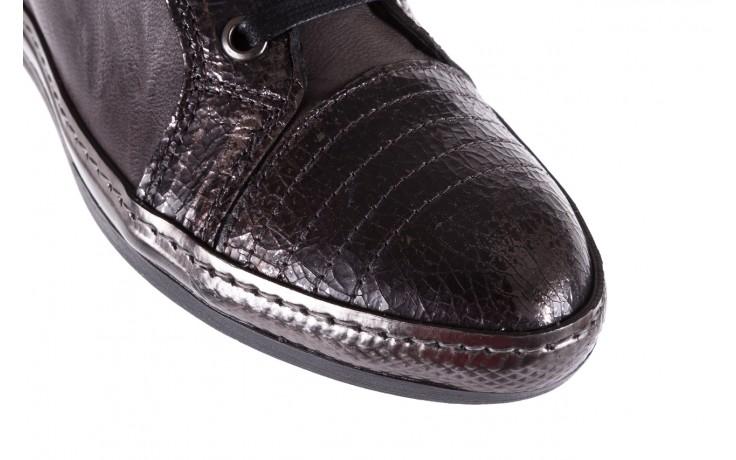 Sneakersy bayla-131 7109 grey, szary, skóra naturalna  - bayla - nasze marki 5