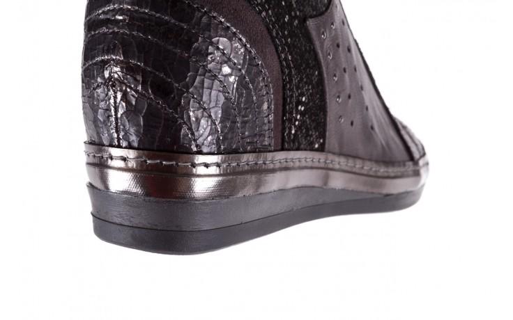 Sneakersy bayla-131 7109 grey, szary, skóra naturalna  - bayla - nasze marki 6