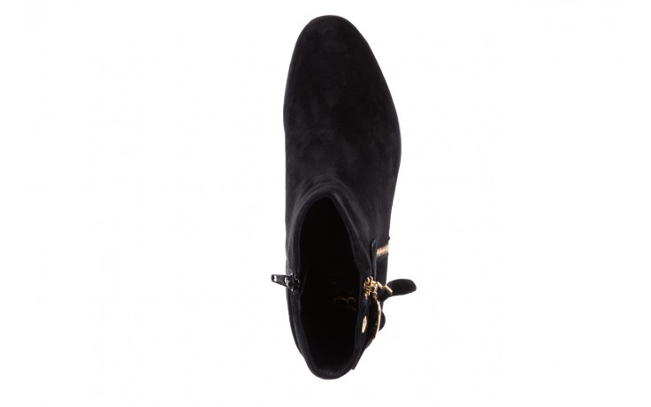 Botki bayla-018 1758-x2 black 17, czarny, skóra naturalna 4