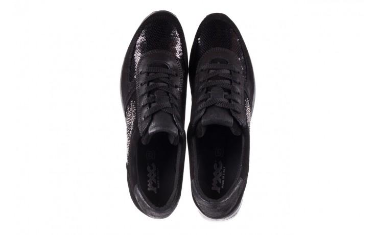 Trampki imac 208850 black black, czarny, skóra naturalna - imac  - nasze marki 4