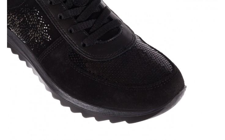Trampki imac 208850 black black, czarny, skóra naturalna - imac  - nasze marki 5
