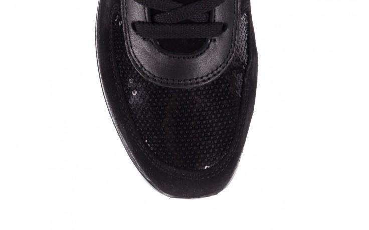 Trampki imac 208850 black black, czarny, skóra naturalna - imac  - nasze marki 6