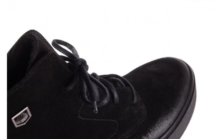 Trzewki bayla-100 1004 czarne sportowe trzewiki, skóra naturalna - trzewiki - buty damskie - kobieta 6