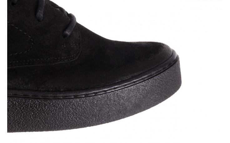 Trzewki bayla-100 1004 czarne sportowe trzewiki, skóra naturalna - trzewiki - buty damskie - kobieta 8