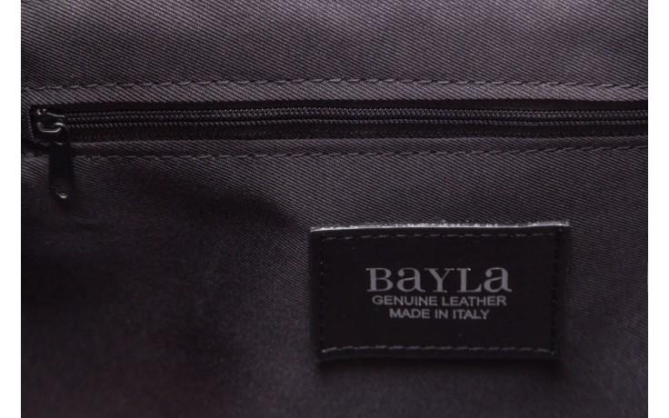 Torebka bayla-180 czarna torebka ze skóry mia - bayla - nasze marki 6