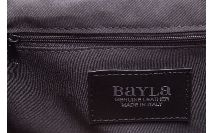 Torebka bayla-180 czarna torebka ze skóry luna - akcesoria - kobieta 6