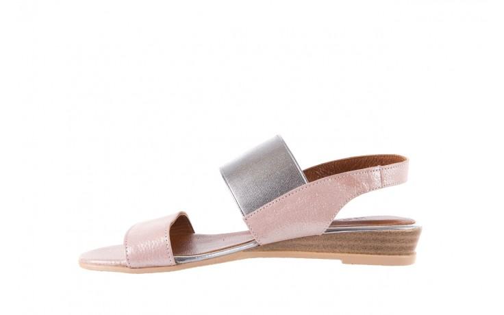 Sandały bayla-112 0410-120 powder satin, róż, skóra naturalna  - bayla - nasze marki 2