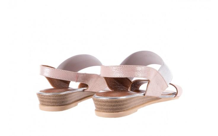 Sandały bayla-112 0410-120 powder satin, róż, skóra naturalna  - bayla - nasze marki 3
