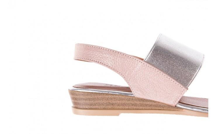 Sandały bayla-112 0410-120 powder satin, róż, skóra naturalna  - bayla - nasze marki 6