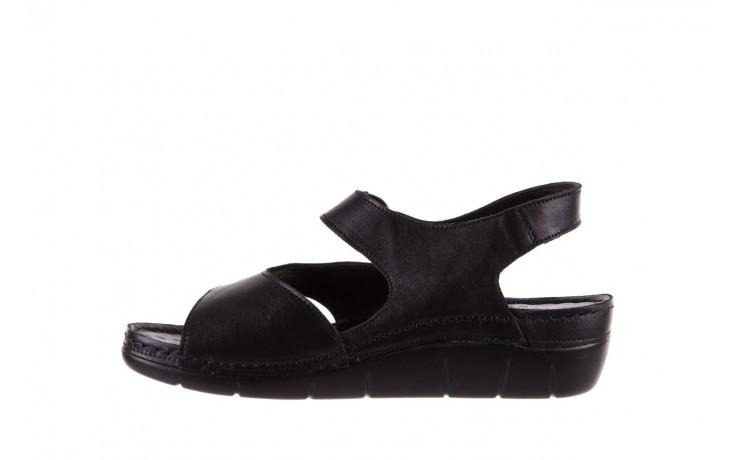 Sandały bayla-112 0348-3002 black, czarny, skóra naturalna  - sandały - letnie hity cenowe 2
