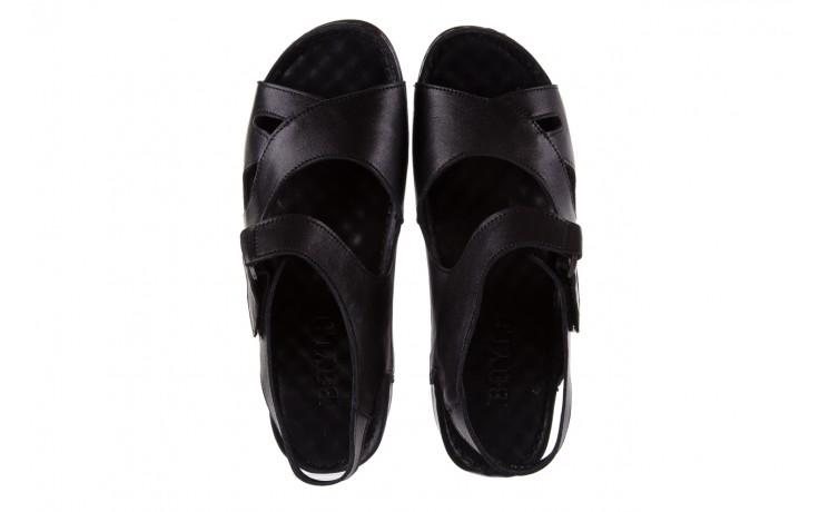 Sandały bayla-112 0348-3002 black, czarny, skóra naturalna  - sandały - letnie hity cenowe 4