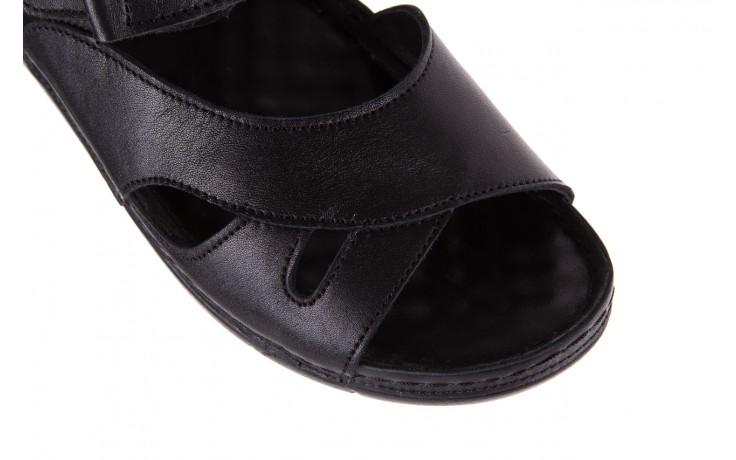 Sandały bayla-112 0348-3002 black, czarny, skóra naturalna  - sandały - letnie hity cenowe 6