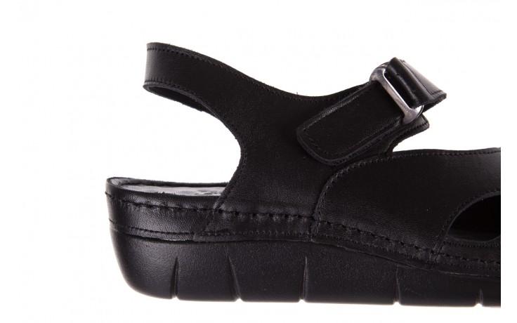 Sandały bayla-112 0348-3002 black, czarny, skóra naturalna  - sandały - letnie hity cenowe 5