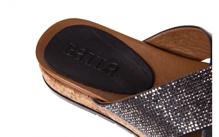 Klapki bayla-112 0396-204 black, czarny, skóra naturalna  - bayla - nasze marki 6