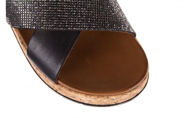 Klapki bayla-112 0396-204 black, czarny, skóra naturalna  - bayla - nasze marki 5
