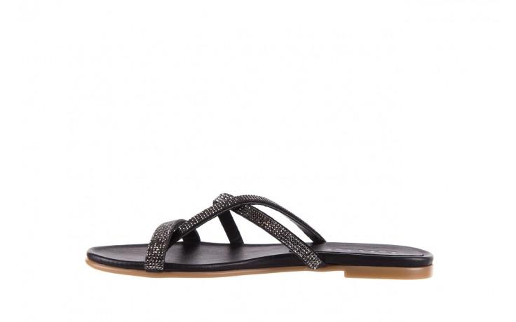 Klapki bayla-112 0396-304 black, czarny, skóra naturalna 2