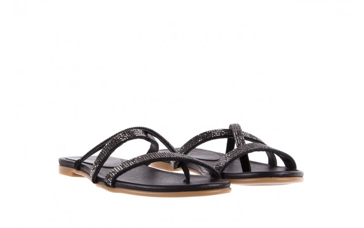 Klapki bayla-112 0396-304 black, czarny, skóra naturalna 1