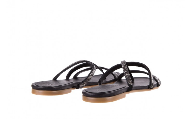Klapki bayla-112 0396-304 black, czarny, skóra naturalna  - bayla - nasze marki 3
