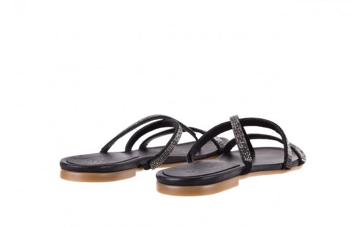 Klapki bayla-112 0396-304 black, czarny, skóra naturalna 3