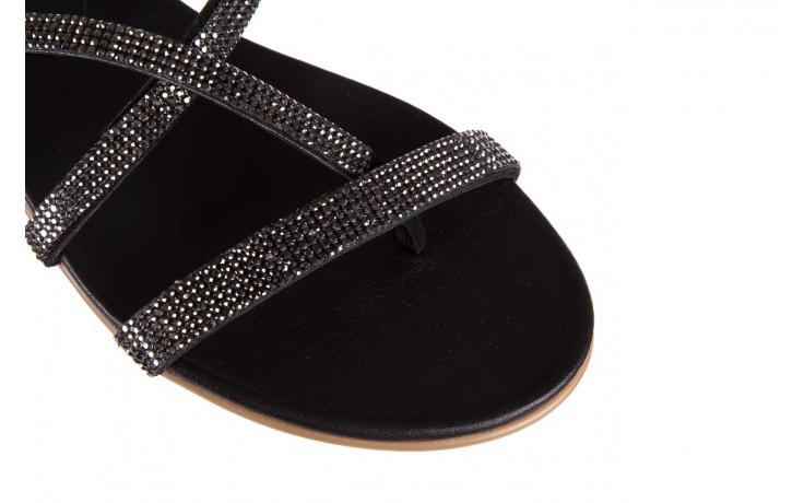 Klapki bayla-112 0396-304 black, czarny, skóra naturalna 5