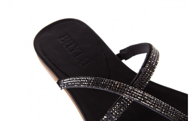 Klapki bayla-112 0396-304 black, czarny, skóra naturalna 6