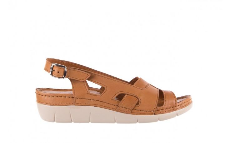 Sandały bayla-112 0348-3003 tan, brąz, skóra naturalna  - bayla - nasze marki