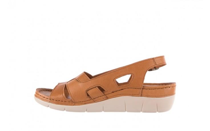 Sandały bayla-112 0348-3003 tan, brąz, skóra naturalna  - bayla - nasze marki 2