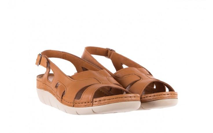 Sandały bayla-112 0348-3003 tan, brąz, skóra naturalna  - bayla - nasze marki 1